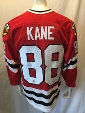 Chicago Blackhawks #8 Patrick Kane Authentic Autographed CCM Jersey Size Large