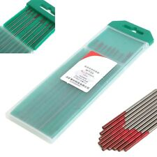 10Pcs 2% Thoriated WT20 Red TIG Welding Tungsten Electrode 0.04inch x 6inch (1.0