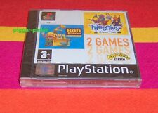 PS1 Bob The Builder Can We Fix It Tweenies Game Time 2 in 1 New Factory Sealed