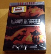 Mission: Impossible M:I & 2 Special Collectors Edition Brand New Factory Sealed