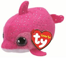 TY Beanie Babies 42314 Teeny TYS Floater le Pink Dolphin