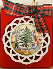 """SPODE CHRISTMAS TREE 3.5"""" Ornament First in the Series Vintage Ornament"""