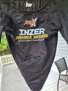 Inzer Rage X Bench Shirt 58 Black Looks New