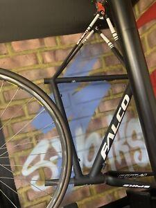 Unused FALCO SAKER 7046 Aluminium Frame  Premium Carbon Forks -  CAAD 12