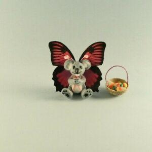 OOAK~Koala~Butterfly Costume~Mini~Artist Doll~Baby Toy~Dollhouse~Cheryl Brown