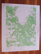 Jess Valley California 1964 Original Vintage Usgs Topo Map