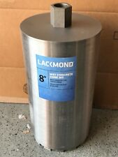 "Lackmond 8""-Inch  Wet Cured Concrete Diamond Core Drill Segmented Bit 1-1/4""-7"