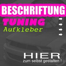 AUFKLEBER / BESCHRIFTUNG / FREISTEHEND - selbst gestalten !! mit Vorschau - TOP