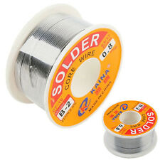 0.8mm 100g 63/37 Tin lead Rosin Core Solder Wire Soldering Welding Flux 2% New