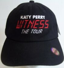 Katy Perry Witness The Tour Adjustable Black Baseball Hat Cap OSFA new