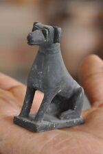 Old Black Stone Small / Penny Unique Fine Handcrafted Dog Figurine