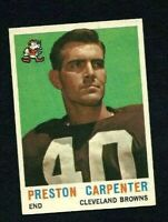 NMT 1959 Topps #18 Preston Carpenter.