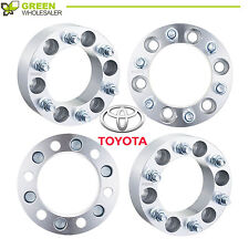 4 Wheel Spacers Adapters 6x5.5 fit 6 lug Toyota Tacoma Tundra 4Runner 12x1.5 2''