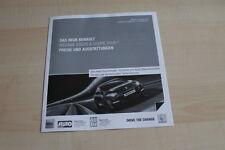 106513) Renault Megane RS 2.0 16V + Coupe - Preise & Extras - Prospekt 02/2012