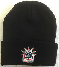 NWT NHL New York Rangers Cuffed Winter Knit Hat Cap Beanie NEW!