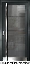 HAUSTÜR2000® Aluminium Haustür Glas Tür Alu Haustüren nach Maß Mod. HT 5480 GLA