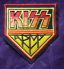 KISS ARMY PATCH KISS BAND ROCK & ROLL GENE SIMMONS PAUL STANLEY BIKER PUNK