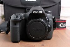 Canon EOS 70D 20.2MP Digital SLR Camera - Black (Body Only) with Strap and Bag