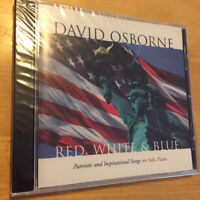 DAVID OSBORNE Red White & Blue CD BRAND NEW & FACTORY SEALED 4th Of July Music!
