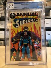 SUPERMAN ANNUAL #11 CGC 9.6 NM+ / ALAN MOORE STORY WP
