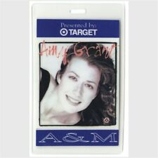 Amy Grant authentic 1995 concert Laminated Backstage Pass House of Love Tour A&M