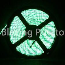 LumenWave 5M 5630 IP65 Waterproof Flexible 300 LED Strip Lights -White PCB-Green