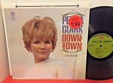 PETULA CLARK Downtown WARNER BROTHERS Female Pop LP SHRINK W7 STEREO NM- Vinyl