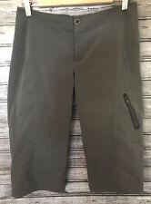 Women's Sz 10 Columbia Omnishield Cropped Pants Drk Gray