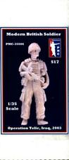 PMC 1:35 Modern British Soldier Operation Telic Iraq 2003 Figure Kit #35006X