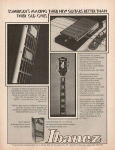 1976 Ibanez Super 70 Anti-Hum Pickup & More - Vintage Guitar Ad