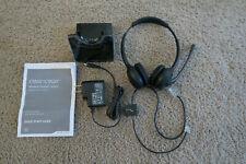 Plantronics CS520 Black Headband Headsets