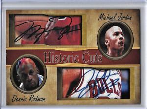 Michael Jordan Dennis Rodman Card