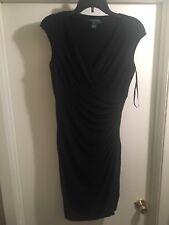 Ralph Lauren Womens Black Sleeveless Casual Size 6 Dress