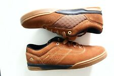 Emerica The Herman G6 brown/black/gum shoes.uk size 8,brand new