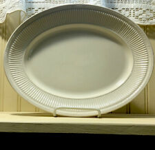 Shenango China  Anchor Hocking Oval White Platter