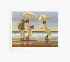 Jack Vettriano - The Picnic Party - Limited Edition Print - Signed 49,5x41cm