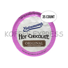 HOT CHOCOLATE MIX ENTENMANN'S  K CUPS 35 CT SINGLE SERVE CUPS