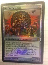 Mtg Magic the Gathering Scars of Mirrodin Myr Battlephere FOIL