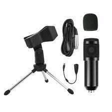 BM-800 Pro Kondensator Microphone Mikrofon Kit Komplett Set für Studio Aufnahme