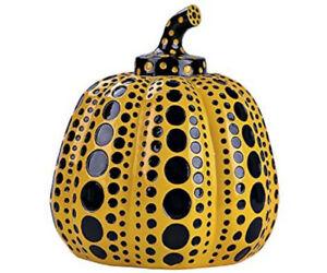 LAMMFROMM Yayoi Kusama Paperweight Object [Pumpkin (Yellow)]Expedited Shipping