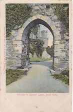Entrance To Castle, CONWAY, Caernarvonshire