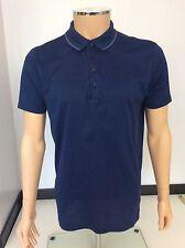 Hugo Boss Boys Polo T Shirt, Size Medium, M, Blue, Short Sleeve, Vgc