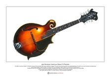 John Paul Jones' Lloyd Loar F-5 Mandolin Limited Edition Fine Art Print A3 size