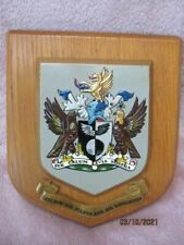 More details for vintage guild of air pilots and air navigators plaque shield crest coat of arms
