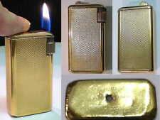 Briquet ancien Flaminaire Quercia PL OR Vintage gas Lighter Feuerzeug Accendino