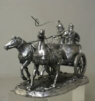 Niena Studio St.Petersburg  54 mm scale. Metal .Tin Assyrian war chariot