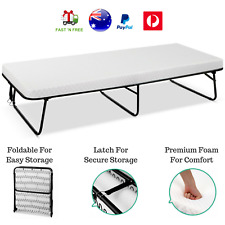Portable Mattress and Frame Folding Bed Guest Hotel Beds Single Outdoor Camping