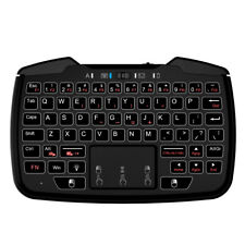 Rii 2.4G Backlit Wireless Game Controller Keyboard Mouse Combo W/T_ouchpad P5I2