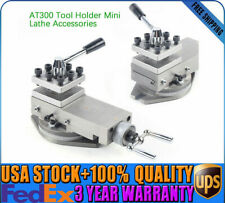 New 1*At300 lathe tool post assembly Holder Metalworking Mini Lathe Accessories
