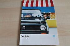91212) VW Polo Prospekt 01/1988